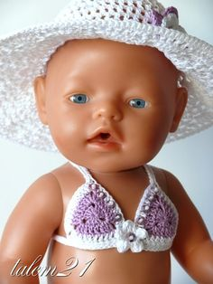мои работы для Baby Born Crochet Baby Shoes, Baby Born, Crochet For Kids, Baby Dolls, Doll Clothes, Crochet Patterns, Crocheting, Barn, Doll Outfits