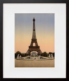 Eiffel Tower, Exposition Universelle, a Vintage Edition (as chosen by Joanne Wilson) Famous Structures, Eiffel Tower Painting, Gustave Eiffel, Paris Decor, Paris Love, World's Fair, Tour Eiffel, City Lights, Us Travel