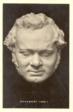 (1797-1828) Franz Schubert (Death Mask)