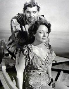 "Clark Gable and Joan Crawford ""Strange Cargo"""