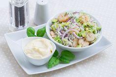 Sałatka z krewetkami i awokado #intermarche #inspiracje #przepisy #krewetki #salatka Potato Salad, Potatoes, Ethnic Recipes, Food, Essen, Potato, Meals, Yemek, Eten