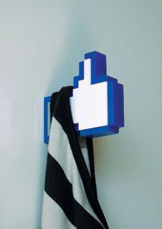 Facebook Like Hanger