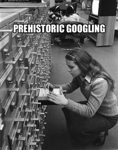 Remember when? Card catalog!