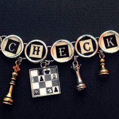 Checkmate Chess Bracelet Charm