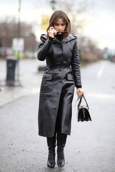 New York Fashion Week Street Style AW16: Miroslava Duma @lucearow