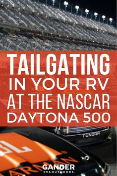 There's no experience like camping at the Daytona International Speedway, especially for the Daytona Here's an inside look at what it's like camping at the track. Nascar Daytona, Daytona 500, Racing News, Nascar Racing, Auto Racing, Camping Games, Camping Activities, Camping Tips, Trans Am