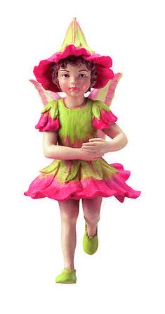 Retired Cicely Mary Barker Polyanthus Flower Garden Fairy Ornament Figurine NIB $35 ebay seller rogleykate