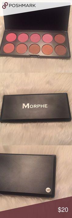 Morphe Blush/Bronzer palette 10D New, never used. Morphe Blush/Bronzer palette 10D. 🚫trades Morphe Brushes Makeup Blush