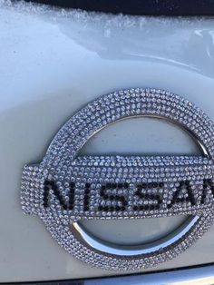 Bling Nissan LOGO Front or Rear Grille Emblem Made w/ Rhinestone Cryst – Carsoda