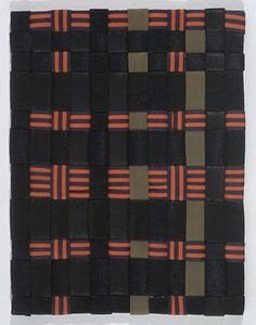 Louise Bourgeois, Untitled, 2002  Woven fabric  27.3 x 21 cm / 10 3/4 x 8 1/4 in