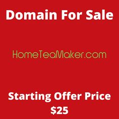 HomeTeaMaker.com domain name for sale! Visit it now to purchase it!  #hometeamaker #teamaker #teaathome #homemade #tea #domainforsale #domainname #domains #domainsale #domainnameforsale #website K Store, Budgeting, Names, Website, Live, Tent, Homemade Tea, Luxury Watches, Bonsai
