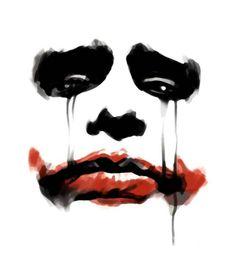 The Joker - maybe for bathroom mirror.