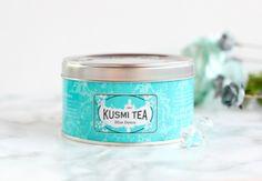 Blue Détox de Kusmi Tea : Le thé ensoleillé ! Découvrez le nouveau thé détox fruité au goût ananas de chez Kusmi Tea #thé #détox #heakthy #kusmitea