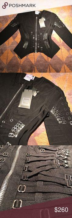 Herve Leger Cheyenne Jacket Black Herve Leger Cheyenne Jacket Herve Leger Jackets & Coats