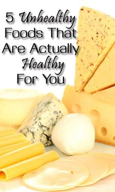 5 Unhealthy Foods That Are Actually Healthy For You http://fitering.com/unhealthy-foods-that-are-actually-healthy/