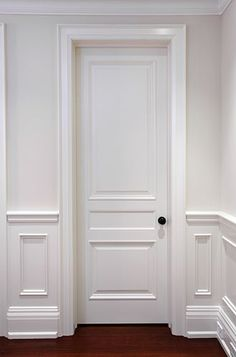 Interior Panel Door with three unequal divisions.