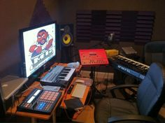 My #home recording studio #studio gear
