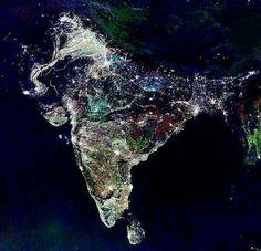 Индия во время праздника огней