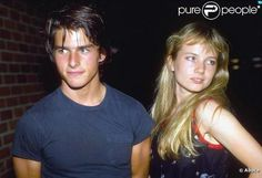 Tom Cruise and Rebecca de Mornay