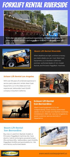 Construction Equipment Rental Los Angeles CA (scissorliftLA