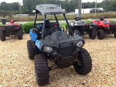 New 2016 Polaris ACE 570 ATVs For Sale in North Carolina. Reduced to $7188 + tax, D/C and any added accessories. You'll have nothing but fun in this one! E-Z financing available. Fill out your credit application online at . ALL CREDIT APPS ACCEPTED! Don't let challenged credit discourage you. We work with many second chance lenders. Let us help you get riding!!! Featuring the same legendary system found on nearly all Polaris off-road vehicles, the On-Demand True All-Wheel Drive system…