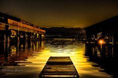 www.shirhaangarcia.com...sunset  in Gmunden,Austria.Europe...lake traunsee...