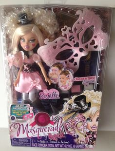 Masquerade Bratz Brielle Doll New NIB #Bratz #DollswithClothingAccessories