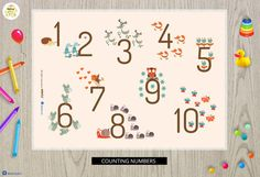 baby shower gift-placemat for kids-placemats for kids by MokileArt