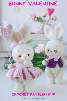 Crochet Bunny, Cute Crochet, Bunny Toys, Bunnies, Eyebrow Embroidery, Handmade Wooden Toys, Baby Knits, Crochet Basics, Toddler Gifts