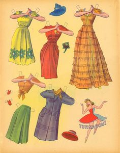 TurnAbouts Doll Book* The International Paper Doll Society by Arielle Gabriel for all paper doll and paper toy lovers. Mattel, DIsney, Betsy McCall, etc. Join me at #ArtrA, #QuanYin5 Linked In QuanYin5 YouTube QuanYin5!