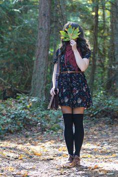 Autumn Flora by Little Bird Lee, via Flickr