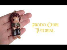 TUTORIAL: Polymer Clay Frodo (LOTR) Charm/Figurine