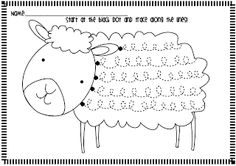 Spring Lamb Handwriting Freebie