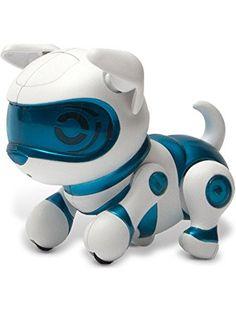Tekno Newborns Pet Robot Dog, Blue ❤ Echo Technologies