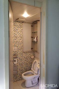 [마포강변힐스테이트] 미니멀라이프를 실천하는 싱글하우스 24평인테리어 by 바오미다 : 네이버 블로그 Toilet, Mirror, Bathroom, Interior, House, Furniture, Home Decor, Washroom, Decoration Home