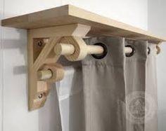 Resultado de imagem para wooden shelf support