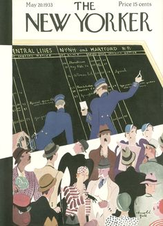 The New Yorker - Saturday, May 20, 1933 - Issue # 431 - Vol. 9 - N° 14 - Cover by : Arnold Hall