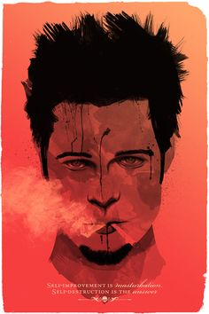 Vector Illustrations – Bad Dudes – Adam Sidwell    (reminds me of brad pitt in fight club)