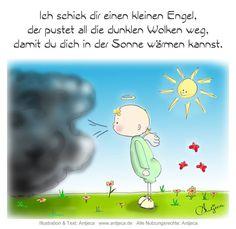 Ein kleiner Engel ♥ Parenting Quotes, Parenting Tips, Single Parent Quotes, German Words, Told You So, Love You, Hip Workout, German Language, Jaba