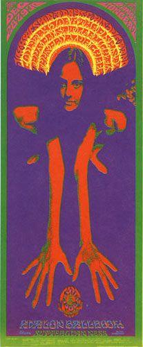 Jim Kweskin Jug Band Family Dog Poster  Country Joe and the Fish Lee Michaels and Blue Cheer _Bob Schenpf 1967
