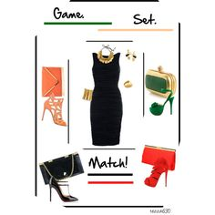"""""""Game. Set. Match!"""" by tezza630 on Polyvore  02.03.2013"""