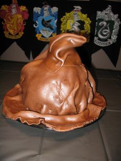 """the sorting hat"" cake"