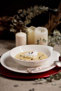 Recetas para navidad-sopa de nieve-crema de papas negras-cocina canaria