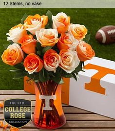 Search for the ftd university of tennessee vols rose bouquet Tennessee Volunteers Football, Tennessee Football, Tennessee Game, Vol Nation, Tennessee Girls, Orange Country, Go Vols, Orange You Glad, University Of Tennessee
