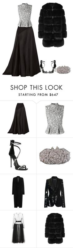 """Untitled #5800"" by lovetodrinktea ❤ liked on Polyvore featuring Lanvin, Erdem, Giuseppe Zanotti, Otazu, Rick Owens, Dolce&Gabbana and Givenchy"