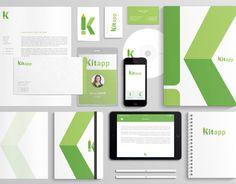 "Check out new work on my @Behance portfolio: ""Kitapp corporate identity."" http://on.be.net/1jbi7wF"