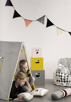 Very cool tent for your kids' room or playroom – Cool Play Tent by Ferm Living a… – Kids Rugs Playroom Childrens Play Tents, Kids Tents, Cool Tents, Decoration Design, Baby Kind, Nursery Neutral, Kid Spaces, Kids Decor, Decor Ideas