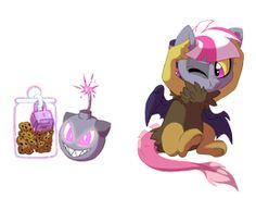 Fire in the hole by Lopoddity on DeviantArt My Little Pony Comic, My Little Pony Pictures, Kilala97, Mlp Base, In The Hole, Pandora, Princess Luna, Mlp Pony, Cute Doodles