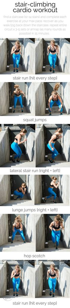 stair-climbing cardio workout | the ultimate stair-climbing, cardio workout for serious fitness gains {and a lifted booty}. | www.nourishmovelove.com #cardiochallenge