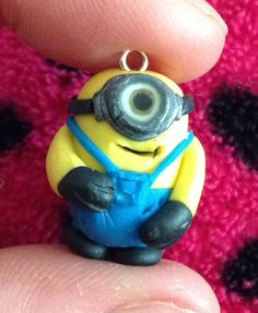 My polymer clay minion - by Chantelle Grice